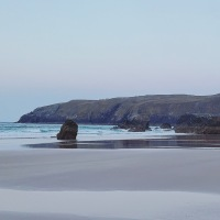 Scotland Tour:  Sunset at Durness and a heather burning